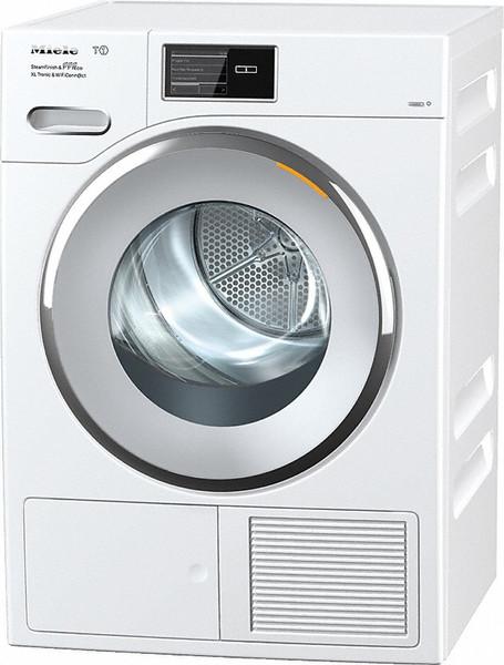 Miele TMV843 WP SFinish&Eco XL Tronic Wifi Отдельностоящий Фронтальная загрузка 9кг Cеребряный, Белый