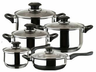 Magefesa Family 10 10шт набор кастрюль/сковородок