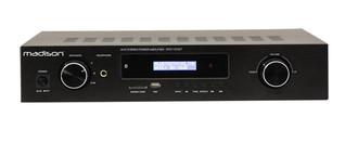 MADISON MAD1400BT-BK Дома Проводной и беспроводной Черный усилитель звуковой частоты