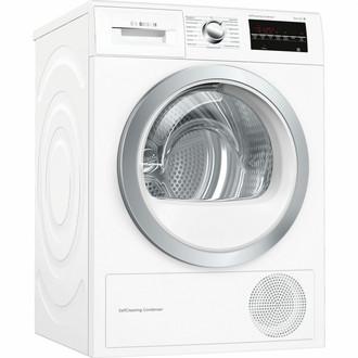 Bosch Serie 6 WTW85491 Отдельностоящий Фронтальная загрузка 8кг A++ Белый сушилка для белья