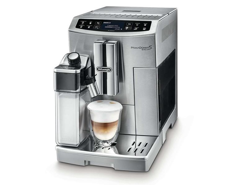 DeLonghi PRIMADONNA S EVO ECAM 510.55.M Отдельностоящий Капельная кофеварка Металлический