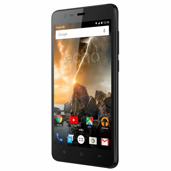 Echo Volt Две SIM-карты 4G 8ГБ Черный смартфон