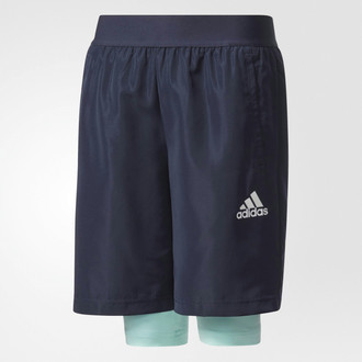 Adidas CE9211 140 Синий Спорт boys' trousers/shorts