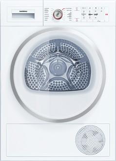 Gaggenau WT 260 100 Отдельностоящий Фронтальная загрузка 8кг A++ Белый сушилка для белья