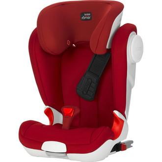 Britax KIDFIX II XP SICT 2-3 (15 - 36 кг; 3,5 - 12 лет) Красный детское автокресло