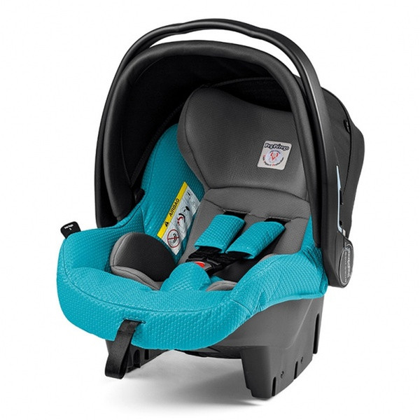 Peg Perego 8005475372166 0+ (0 - 13 кг; 0 - 15 месяцев) Черный, Бирюзовый детское автокресло