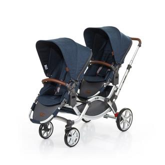 ABC Design Zoom Tandem stroller 2место(а) Синий