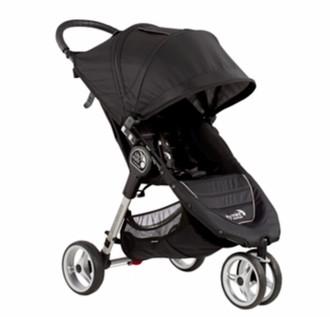 Baby Jogger City mini 3 Jogging stroller 1место(а) Черный, Серый
