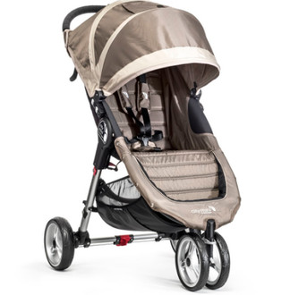Baby Jogger City mini 3 Jogging stroller 1место(а) Песочный