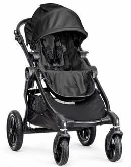 Baby Jogger City Select Traditional stroller 1место(а) Черный