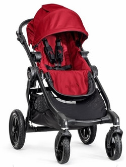 Baby Jogger City Select Traditional stroller 1место(а) Красный