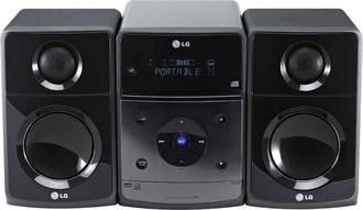LG XB64 Micro set 60Вт Черный домашний музыкальный центр