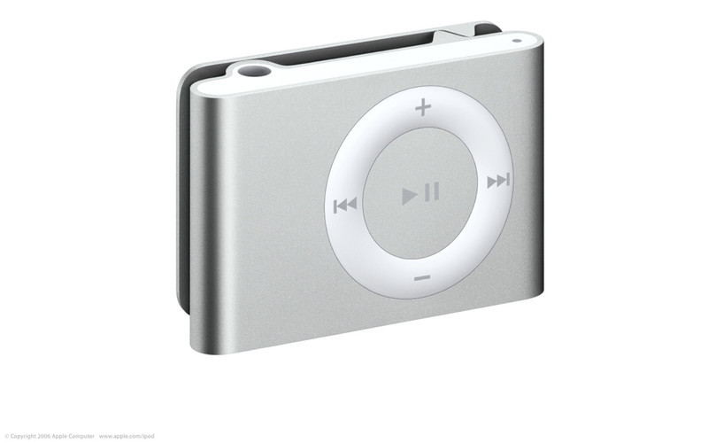 Apple iPod shuffle shuffle 1GB 1ГБ Cеребряный