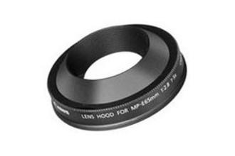Canon MP-E65 Черный светозащитная бленда объектива