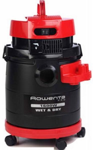 Rowenta RU 4053 Цилиндрический пылесос 19л 1600Вт Черный, Красный пылесос