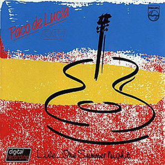 Philips Paco De Lucia - One Summer Night (1986) CD-R 700МБ 1шт