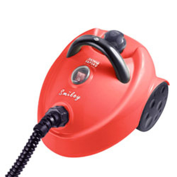 Thomas Vaporo Smiley Цилиндрический пылесос 1350Вт Черный, Красный