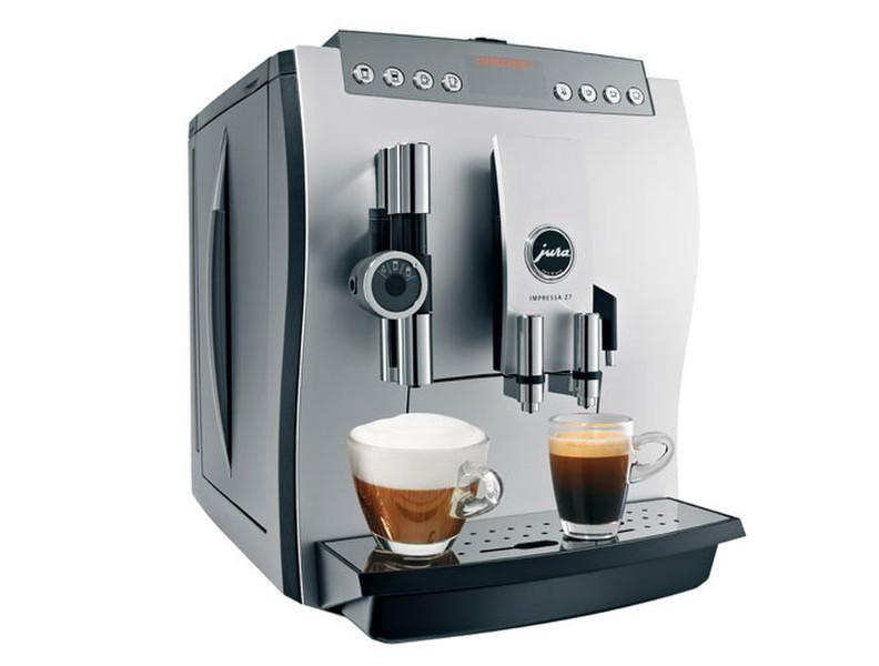 Jura IMPRESSA Z7 One Touch Отдельностоящий Автоматическая Espresso machine 2.8л 20чашек Алюминиевый