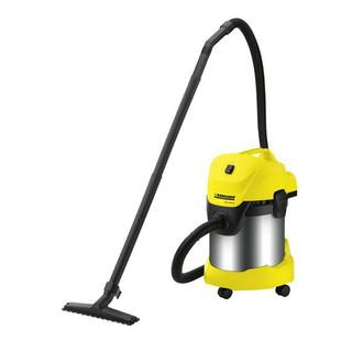Kärcher WD 3.300 M Хозяйственный пылесос 17л 1400Вт Черный, Желтый