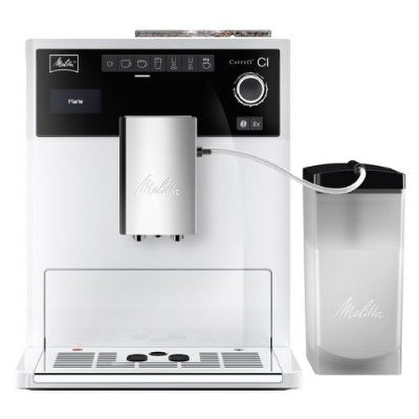 Melitta CAFFEO CI Espresso machine 1.8л 2чашек Белый