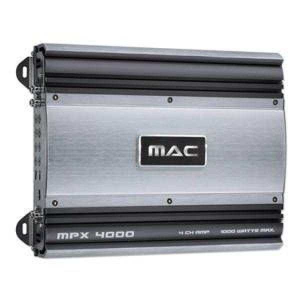 Mac Audio MPX 4000 4.0канала Черный, Cеребряный AV ресивер
