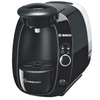 Bosch TAS2002 Отдельностоящий Semi-auto Капсульная кофеварка 1.5л Черный кофеварка