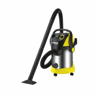 Kärcher WD 5.600 MP Цилиндрический пылесос 30л Черный, Желтый