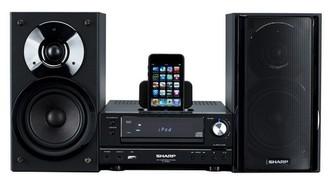 Sharp XLHF200PHBK Micro set 100Вт Черный домашний музыкальный центр