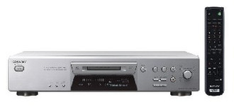 Sony MDS-JE480 HiFi minidisc player Cеребряный минидиск плеер