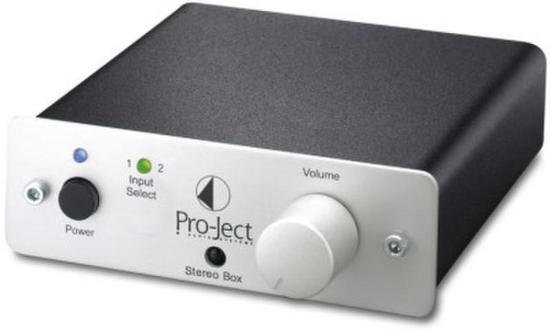 Pro-Ject Stereo Box Проводная Cеребряный усилитель звуковой частоты