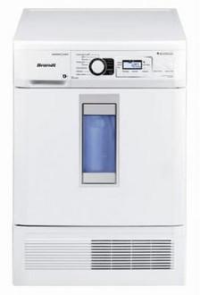 Brandt VAP9831F Отдельностоящий Фронтальная загрузка 9кг C Белый сушилка для белья