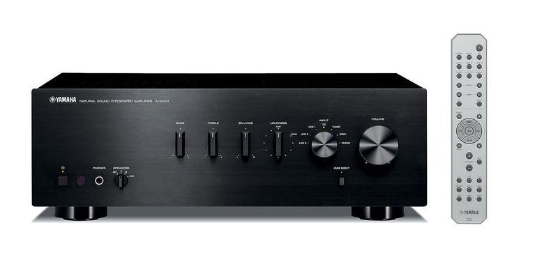 Yamaha A-S300 2.0 Дома Проводная Черный усилитель звуковой частоты