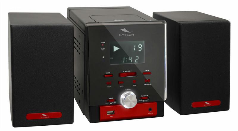 Sytech SY-8040R Micro set Черный, Красный домашний музыкальный центр