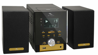 Sytech SY-8040G Micro set Черный, Желтый домашний музыкальный центр