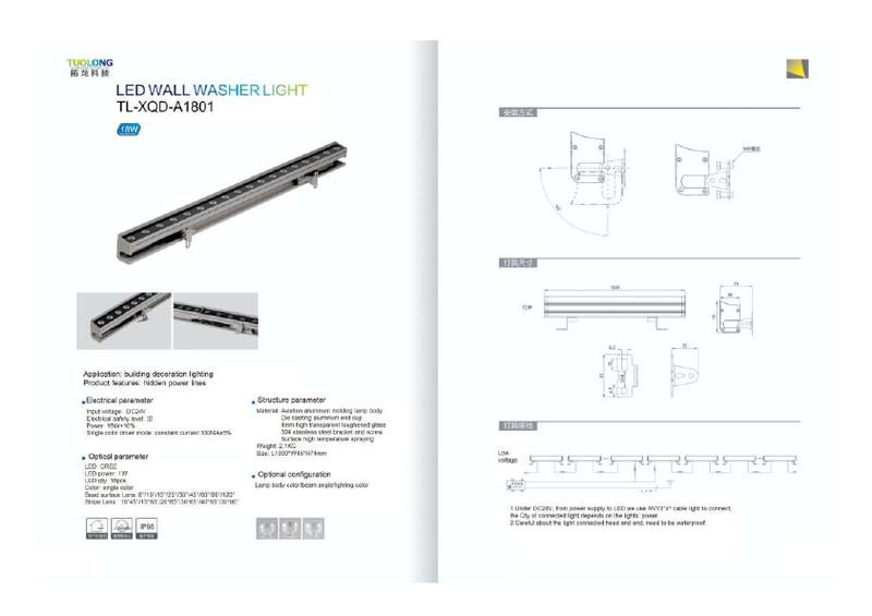 Wire hidden led linear light 12w slim led light bar