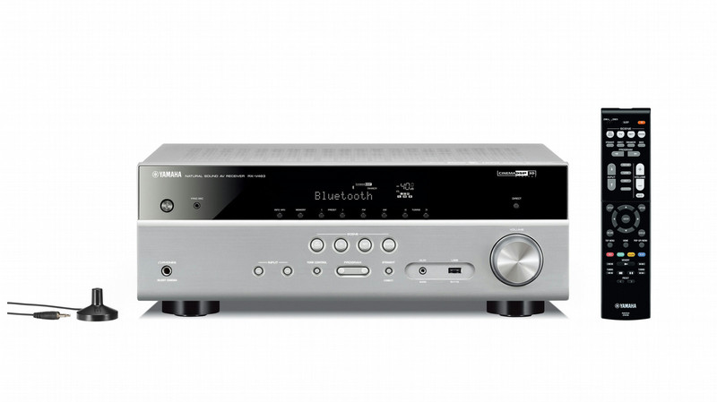 Yamaha RXV483-TI 5.1канала Объемный звук 3D Титановый AV ресивер