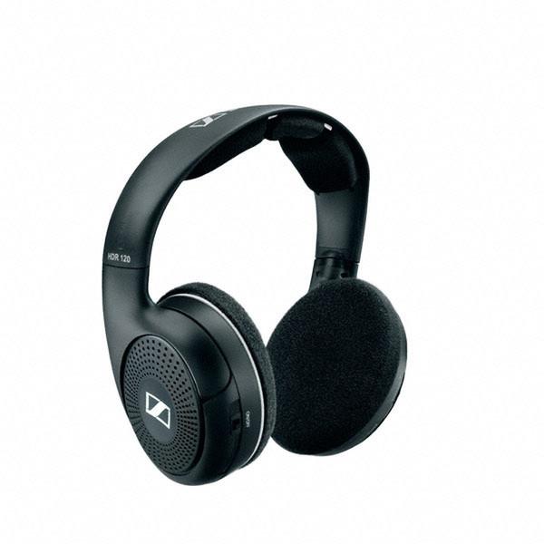 Sennheiser HDR 120 Черный Полноразмерные Оголовье наушники