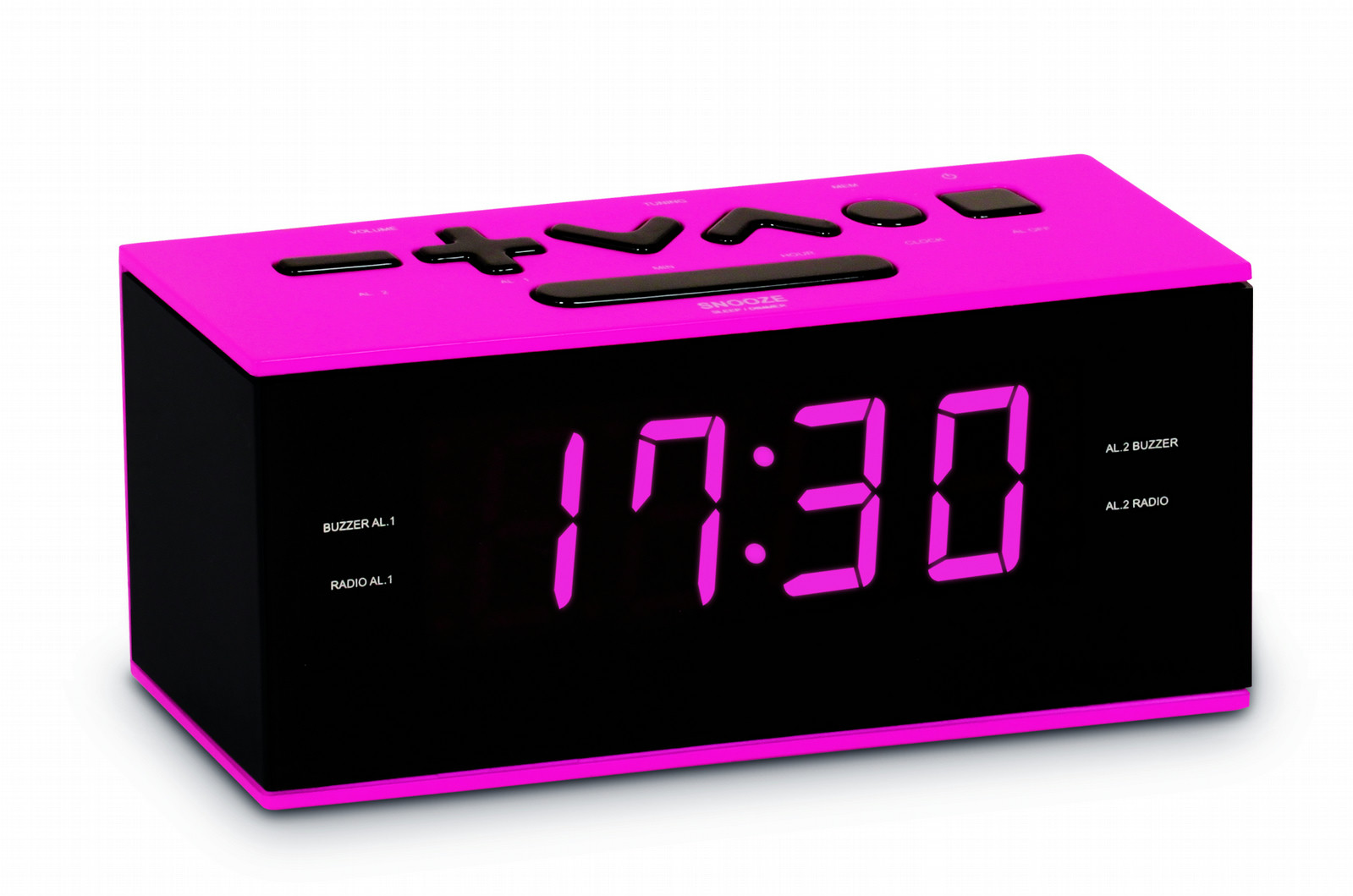 Girls Pink Alarm Clock | Unique Alarm Clock